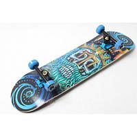 Скейтборд и роллерсерф Профессиональный скейт Fish Skateboard Neptune для трюков до 90 кг Польша