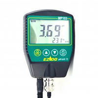 РН-метр для вязких веществ EZODO MP-103GL с выносными электродами GL42/GL43 и термодатчиком