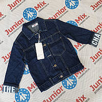 Детские джинсовые пиджаки для мальчиков оптом  JOY