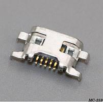 Роз'єм MicroUSB 5pin MC-259 Motorola Moto G G2 XT1063 XT1068 XT1069
