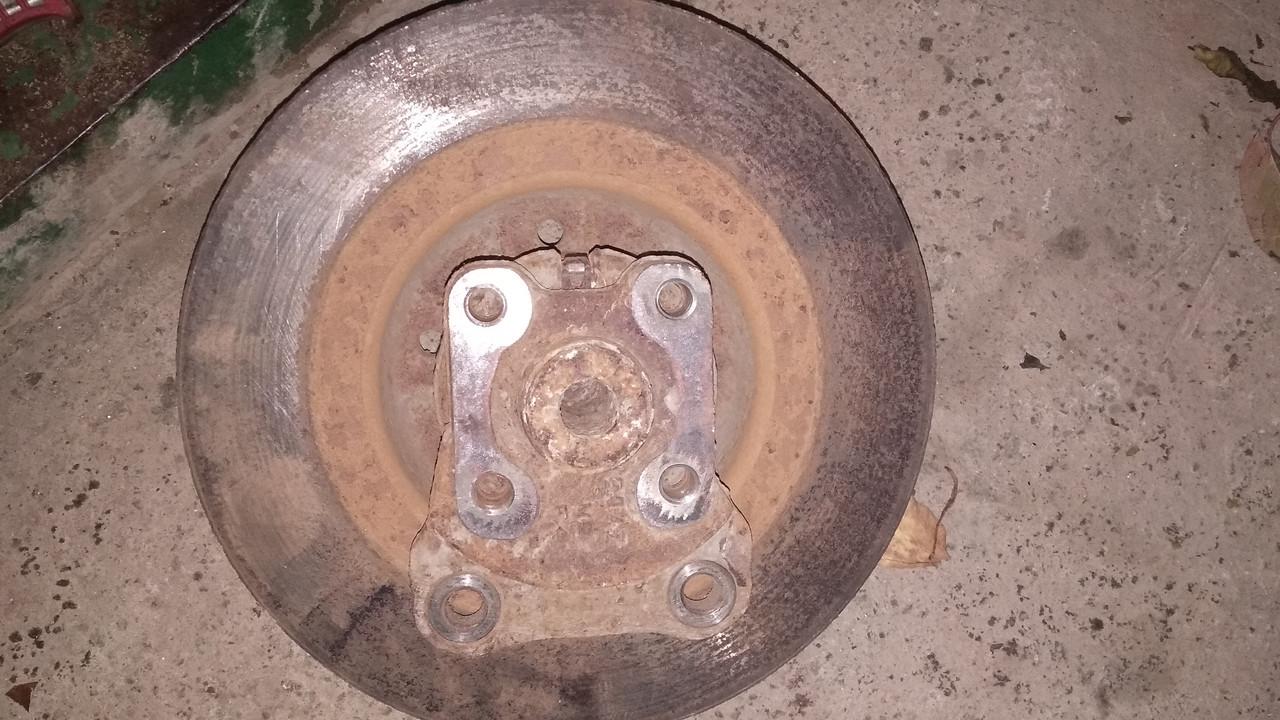 Б/у Задняя ступица и тормозной диск Левая/Правая Renault Laguna II