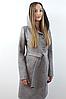 Пальто женское №57 (серый), фото 2