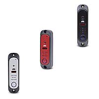 Відеопанель відеопанель ATIS AT-380HR Silver/Red/Black з HD роздільною здатністю 1000 ТВЛ /на одного абонента