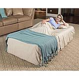 Надувная кровать со встроенным насосом bestway 69035, фото 2