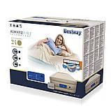 Надувная кровать со встроенным насосом bestway 69035, фото 7