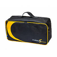 Чохол футляр сумка для 2 коропових котушок жорсткий кейс 320х160х95 мм KIBAS (Кибас) Original Чорний