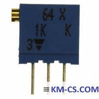 Підлаштування Резистор (Trimmer) 64X-102 (Vishay)