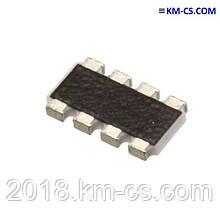 Резисторно збірка YC324-JK-0743RL (Yageo)
