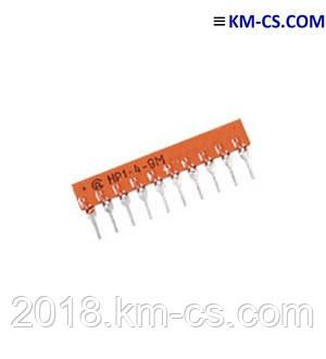 Резисторная сборка НР1-4-9М 3,3 кОм
