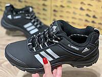 Adidas fast terrex кроссовки мужские на флисе, чёрные, размеры 42 и 46