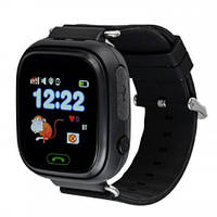 Детские смарт часы Q90 Gsm, sim, Sos,Tracker Finder Smart Watch Черные, фото 1