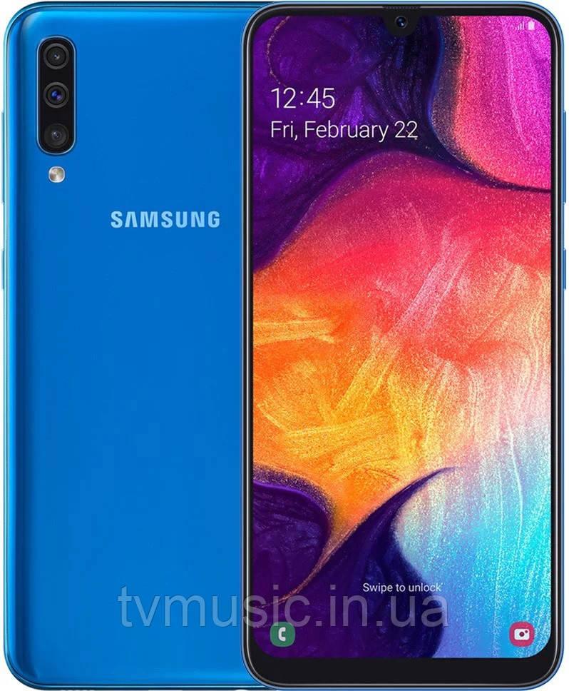 Мобильный телефон Samsung Galaxy A50 2019 6/128 Blue (SM-A505FZBQSEK)