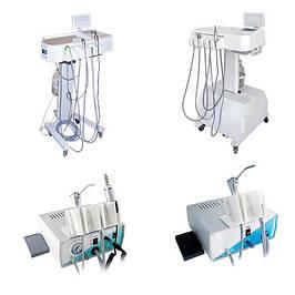Стоматологические портавтивные установки и турбинные приставки.