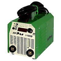 Сварочный инвертор Атом I-180D без кабелей, с байонетными штекерами Abicor Binzel