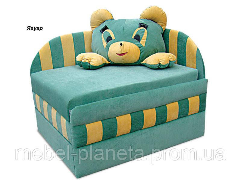 """Детский диван с подушкой """"Панда"""" Вика"""