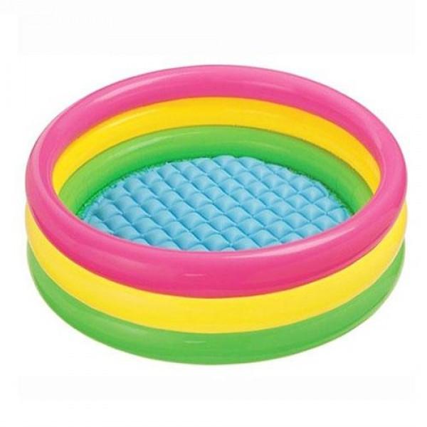 Бассейн надувной для детей Bestway 86х25 см круглый для дачи