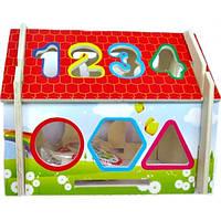 Будиночок - сортер Руді від 1 року дерев'яний