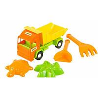 Игрушечный грузовик Тигрес Mini Truck с набором для песка, 5 элементов