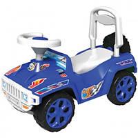 Детская машинка-каталка толокар  Орион Синий