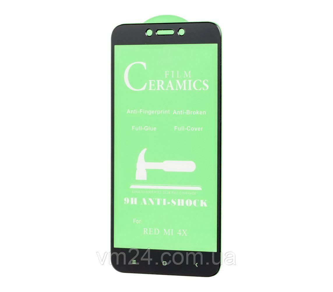 Керамическое защитное стекло Ceramics Anti-shock Glass XIAOMI Note 4X