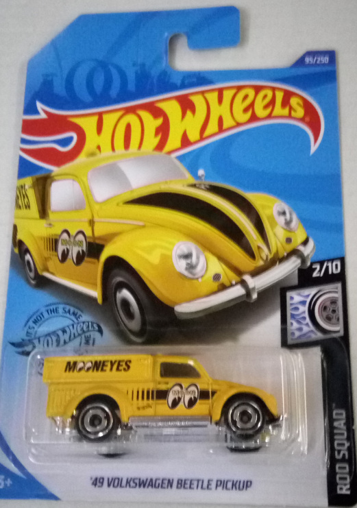 Машинка Hot Wheels 2020 '49 Volkswagen Beetle Pickup