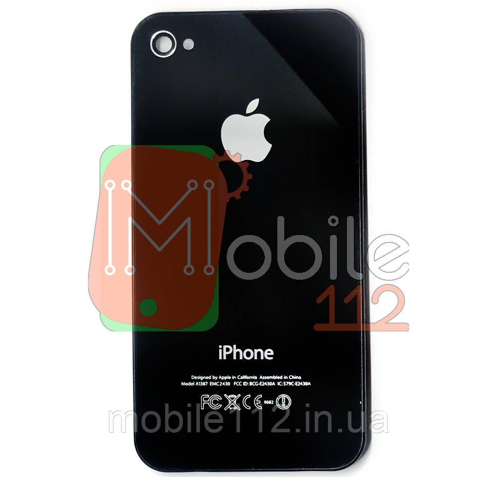 Задняя крышка Apple iPhone 4S черная