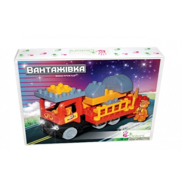"""Конструктор мини """"Грузовик """" 35 деталей Flamingo Toys"""