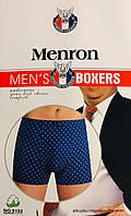 Труси чоловічі боксери бавовна Menron розмір 5XL-7XL(48-54) баталов