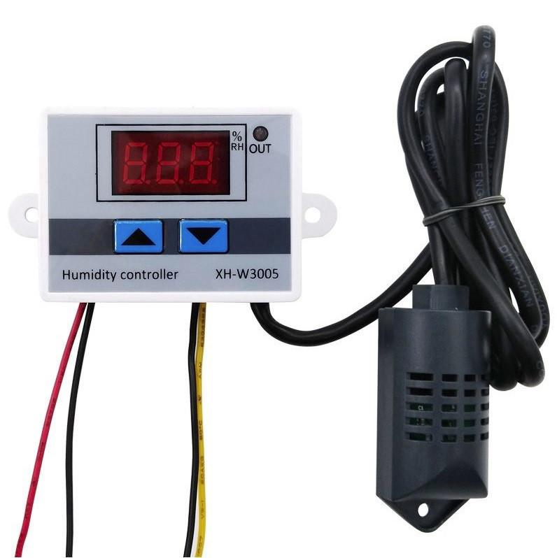 Гидростат XH-W3005 реле AC 220В датчик влажности 0-99% 1500Вт