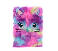 Пушистый блокнот Радужный кот, А5
