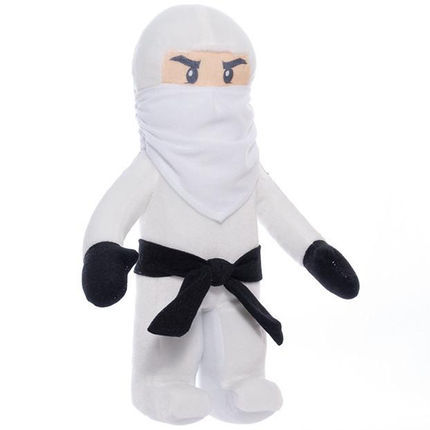 """Мягкая игрушка Ниндзя Зейн """"Ниндзяго"""" Копиця Белый"""