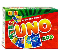 Настольная игра  Strateg UNO ZOO