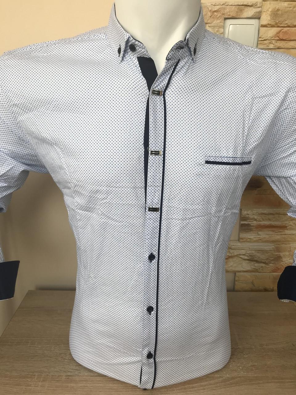 Рубашка длинный рукав AND принт