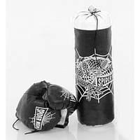 Детский боксерский набор Strateg Человек Паук 40 х 14 см Чёрно - белый
