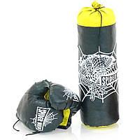 Боксерский набор Strateg Человек Паук 46x18 см средний