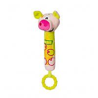 Игрушка - пищалка BabyOno Свинка от 6 месяцев