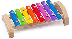 Дерев'яна іграшка МДІ Музичний ксилофон 8 тонів