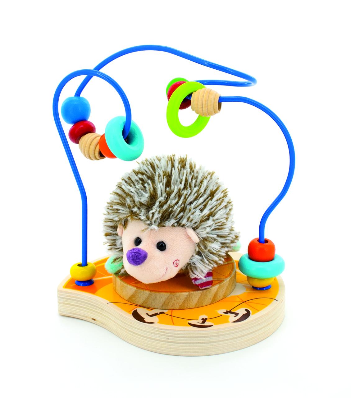 Деревянная игрушка МДИ Лабирин-Ежик