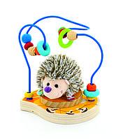 Дерев'яна іграшка МДІ Лабирин-Їжачок