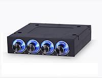 Реобас STW-6002 регулятор скорости вращения вентиляторов ПК, 4 канала