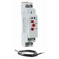 Реле контролю температури РКН8-201, 16А, 24В-230В, діапазон t -15 С - +45 С, Гістерезис 0,5-5 С, груп контакт 1, Electro