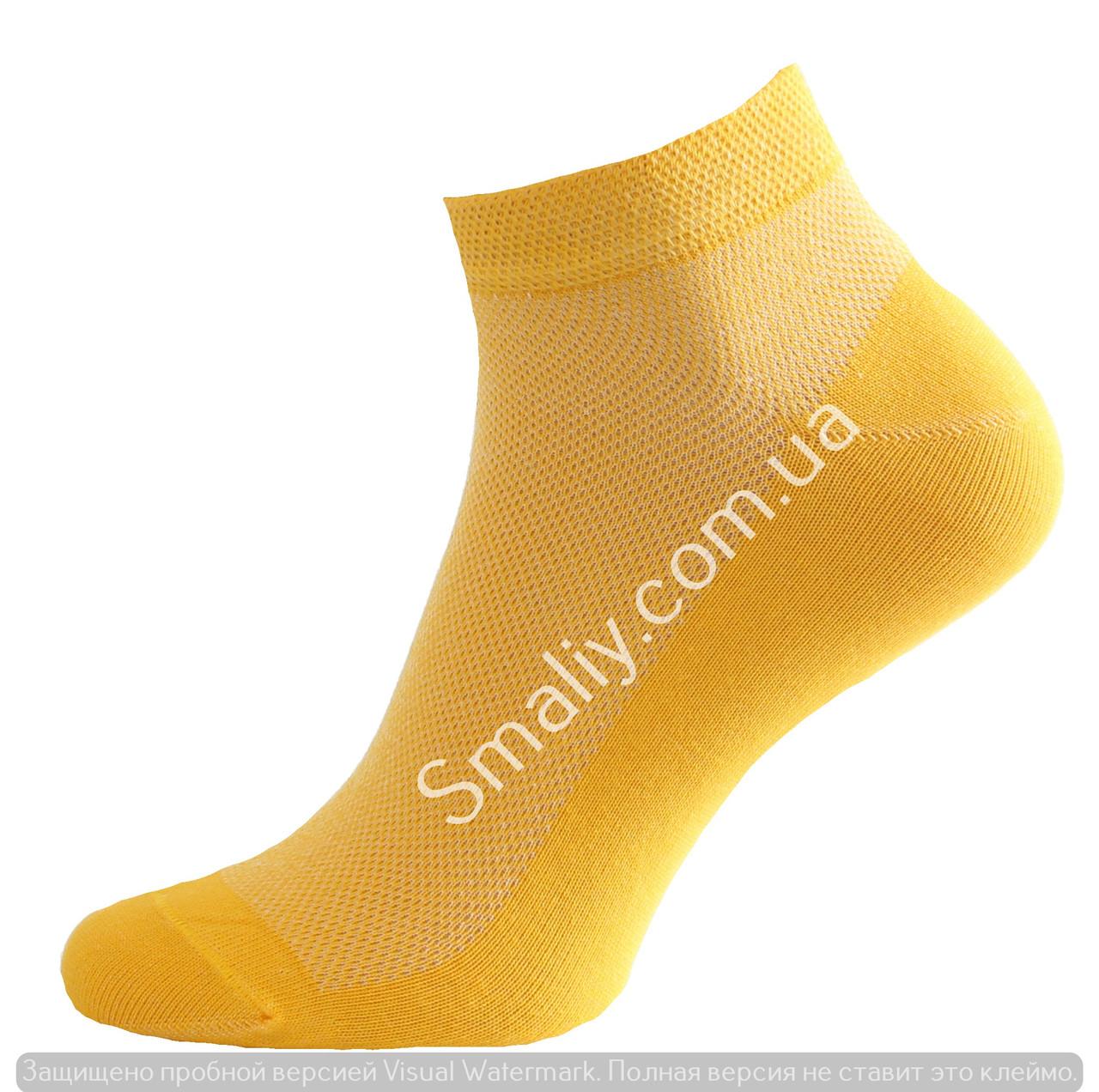 Укороченные летние носки сетка
