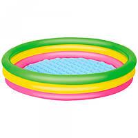 Бассейн надувной для детей Bestway 102х25 см круглый