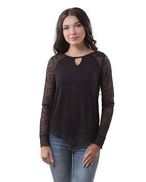 Пуловер женский черный (размеры XS-2XL)