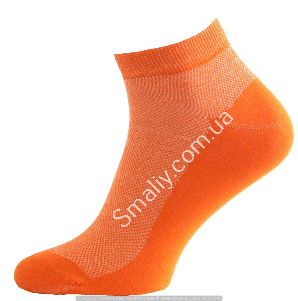 Укороченные носки оптом, сетка (яркие цвета)
