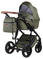 Детская универсальная коляска 2 в 1 Bair Leo кожа