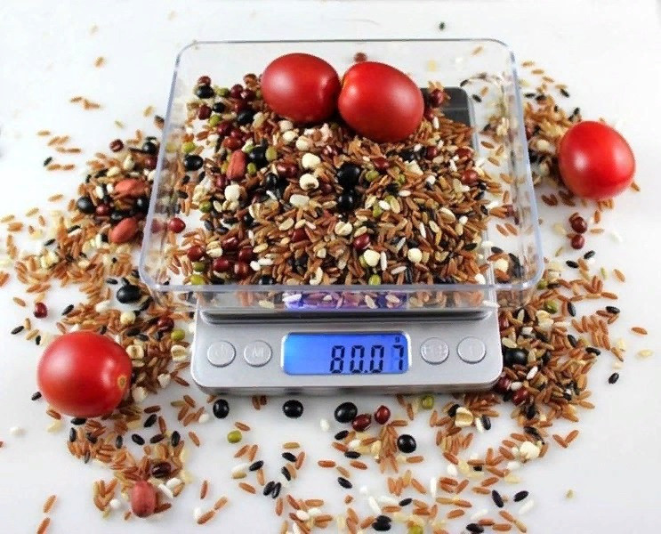 Професійні ваги до 3кг з чашею точність 0.1