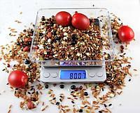 Професійні ваги до 3кг з чашею точність 0.1, фото 1