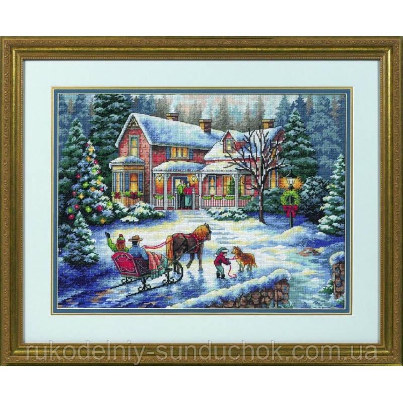 Набор для вышивания Dimensions 08733 Домой на праздники