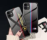 Карбоновый чехол (накладка) для Apple iPhone (айфон) 11, 11 pro, 11 pro max из углеродного волокна, фото 4